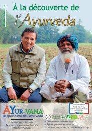 A la decouverte de l'Ayurveda 2019