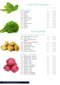 First Choice Foodservice Fresh Fruit and Vegetables - Page 6