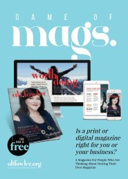 Is A Digital Or Print Magazine Right For You Or Your Business?