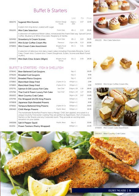First Choice Foodservice Frozen