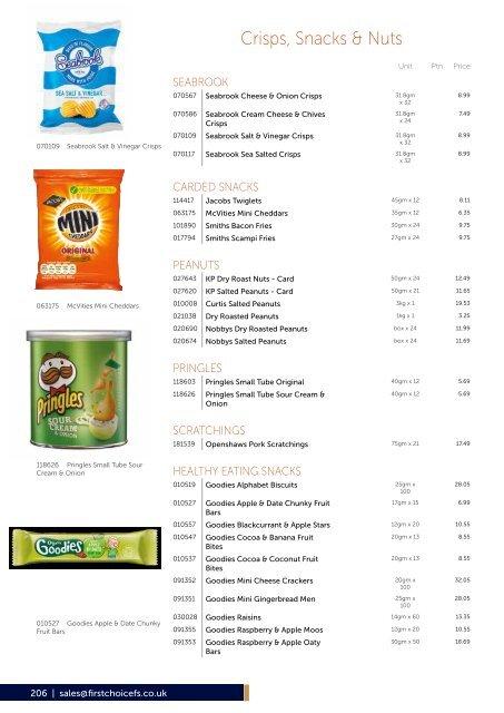 First Choice Foodservice Impulse