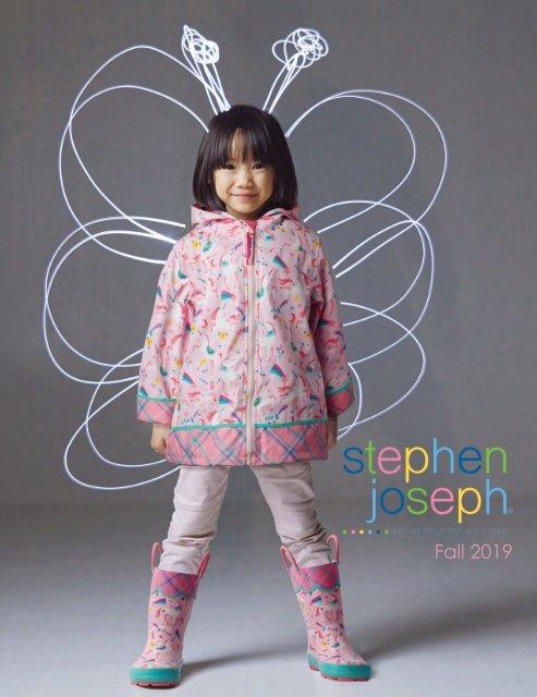 2T Stephen Joseph Girls Toddler Rain Coat Owl