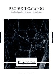 Elis Marble Product Catalog 2019