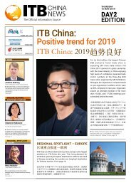 ITB China News 2019 - Day 2 Edition