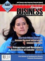 Aboriginal Business - Winter 2018/Spring 2019