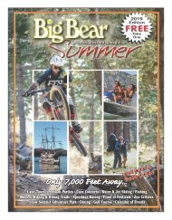 Big Bear Summer Magazine 2019
