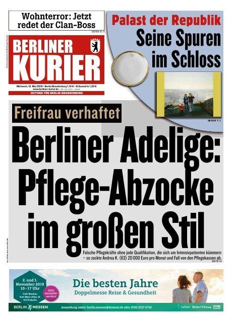 Berliner Kurier 15.05.2019
