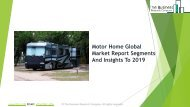 Motor Home Global Market Report 2019