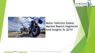 Motor Vehicles Global Market Report 2019