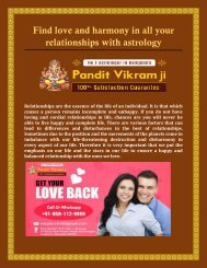 Find love and harmony in all your relationships with astrology