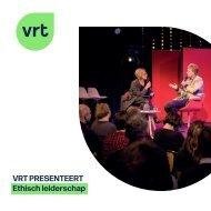 VRT presenteert Ethisch leiderschap
