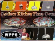 Buy the Best Outdoor Kitchen Pizza Oven | Top Saw Tool LLC DBA WPPO