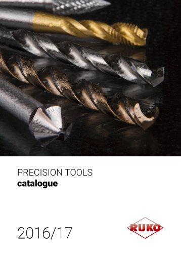 RUKO - Catalogue - Precision Tools - 2017 (EN)
