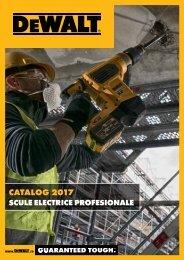 DeWALT - Scule electrice profesionale - 2017-2018 (RO)