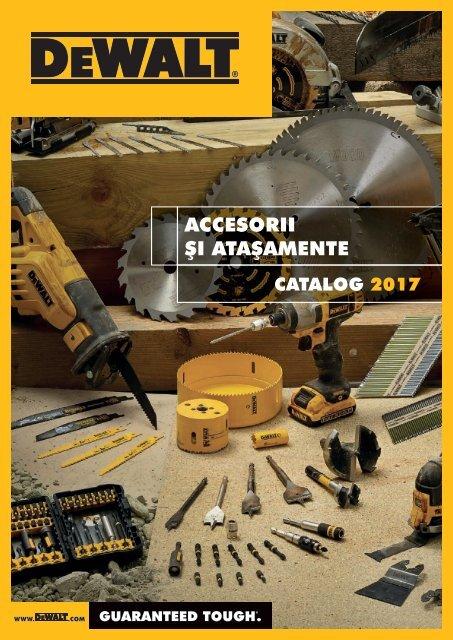 DeWALT - Acesorii - 2017-2018 (RO)