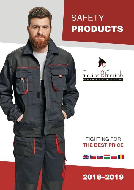 CERVA - Fridrich&Fridrich - Safety Products 2018-2019 (RO/EN)