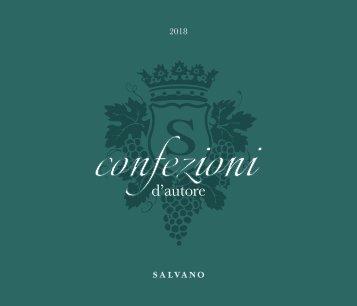 Confezioni d'Autore - Catalogo 2018
