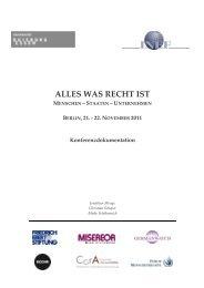 ALLES WAS RECHT IST. Menschen – Staaten ... - Germanwatch