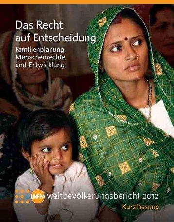 Das Recht auf Entscheidung - Deutsche Stiftung Weltbevölkerung