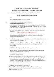 Wahl zum Europäischen  Parlament ... - Stadt Leuna