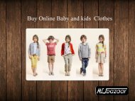 Buy Online Clothes For kids