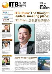 ITB China News 2019 - Day 3 Edition
