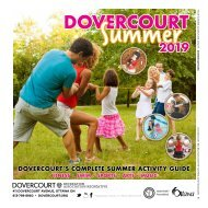 DOVERCOURT SUMMER2019 program guide