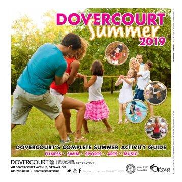 DOVERCOURT SUMMER2019 program guide
