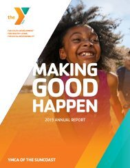 YMCA of the Suncoast Annual Report 2019