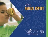 United Way of Snohomish County's 2018 Annual Report