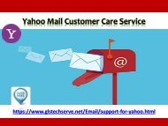 Yahoo Support Number 1877-503-0107
