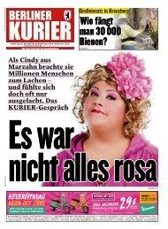 Berliner Kurier 16.05.2019