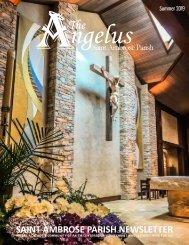 Saint Ambrose Parish Summer Newsletter - May 2019