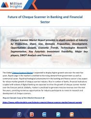 Future of Cheque Scanner in Banking and Financial Sector