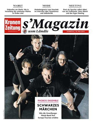 s'Magazin usm Ländle, 19. Mai 2019