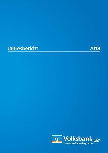 Volksbank Jahresbericht 2018