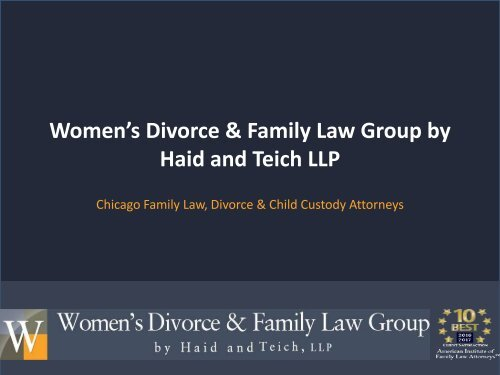 Why you Should Hire the Family Law Lawyer in Chicago
