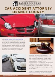 Car Accident Attorney Orange County