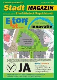 Stadt-Magazin Eitorf, Windeck, Ruppichteroth - Juni 2019