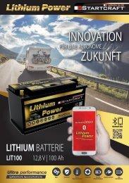 STARTCRAFT Lithium Power