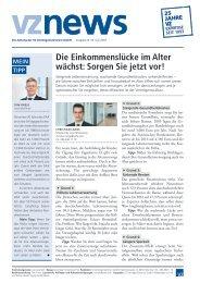 vznews, Deutschland, Juli 2018, Ausgabe 50