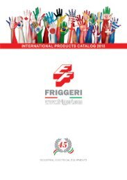 Friggeri - Industrial Electrical Equipment - 2018 (EN)
