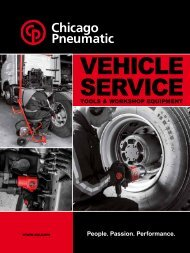 Chicago Pneumatic - Vehicle Service - Tools & Workshop Equipment (EN)
