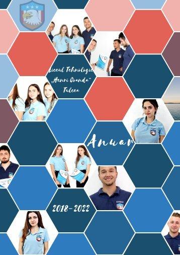 Anuarul liceului (2018-2021)