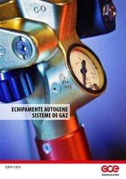 GCE - Catalog - Echipamente Autogene - Sisteme de gaz - 2016 (RO)