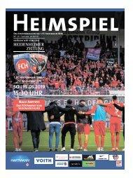 Heimspiel Nr. 16 Saison 2018/2019