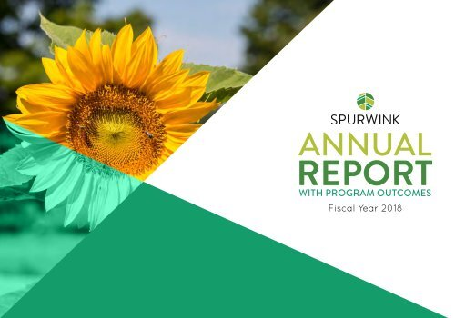 Spurwink Annual Report - FY18