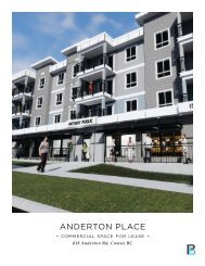 Anderton Place Commercial| Comox, BC