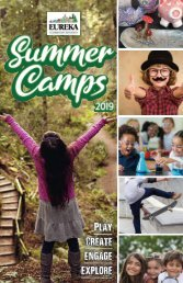 Eureka Community Services 2019 Summer Camps Guide
