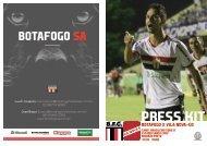 PRESS KIT: Botafogo x Vila Nova-GO - Série B - 18/05/2019